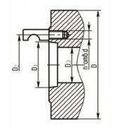 Патроны токарные типа 4 исполнения 1 пр-во БелТАПАЗ