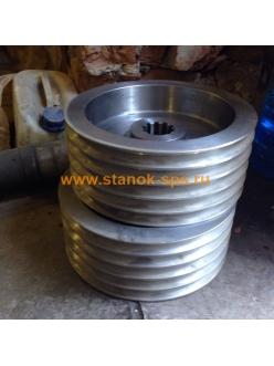 Шкив 1К62-15-41 двигателя 5 ручьёв