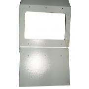 Защитный экран для токарного станка (ограждение патрона, ограждение зоны резания)
